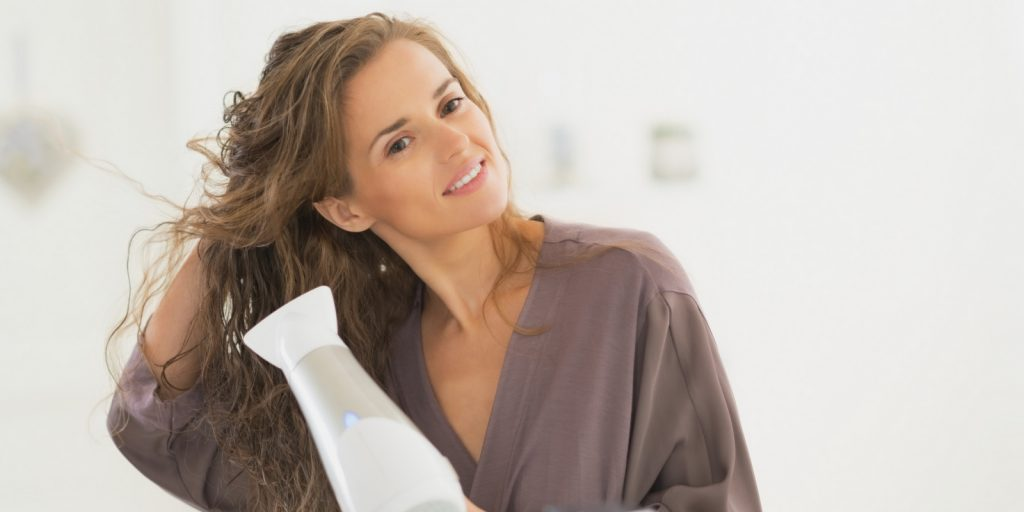 Styling your hair at home