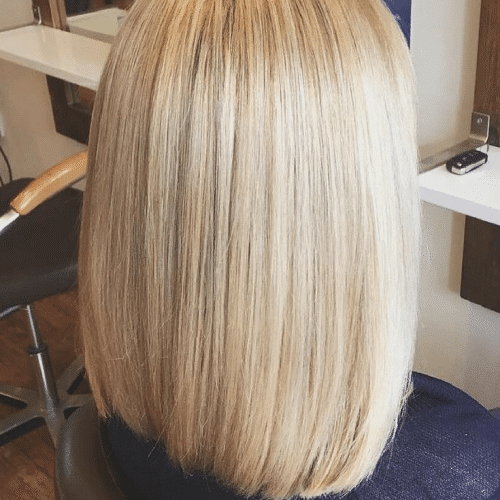 Highlights with Olaplex - Long Bob - Aveda Colour - Tribe Salons