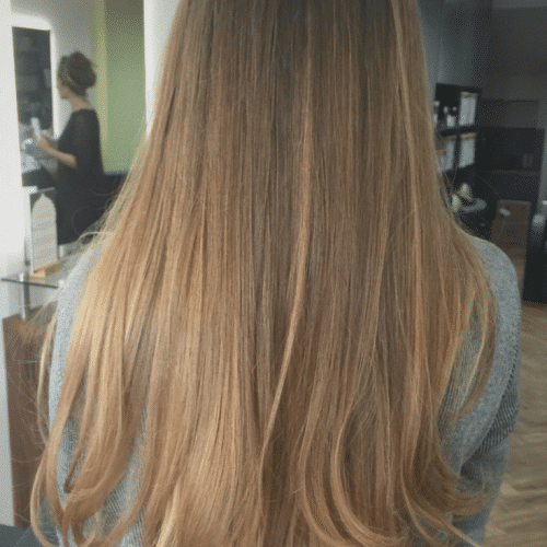 Ombre - Long Hair - Aveda Colour - Tribe Salons