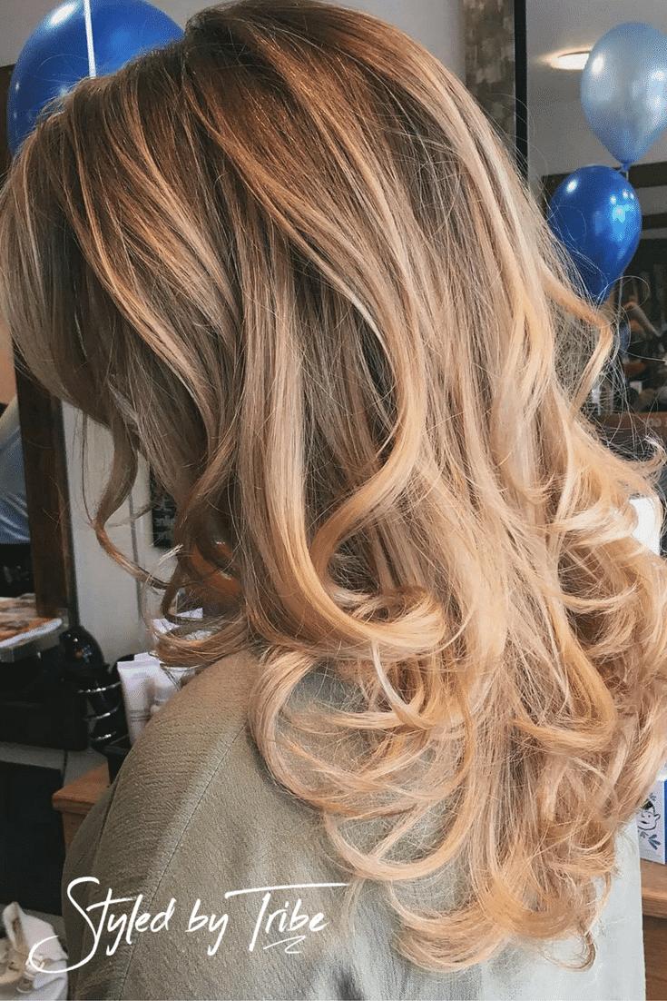 Soft Balayage And Highlights Long Hair Aveda Colour