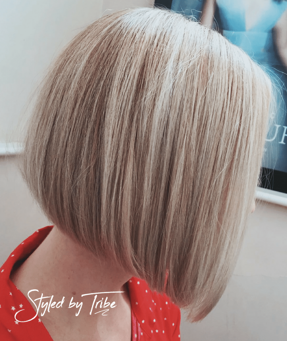 Classic Bob Amp Highlights For Hannah Aveda Colour