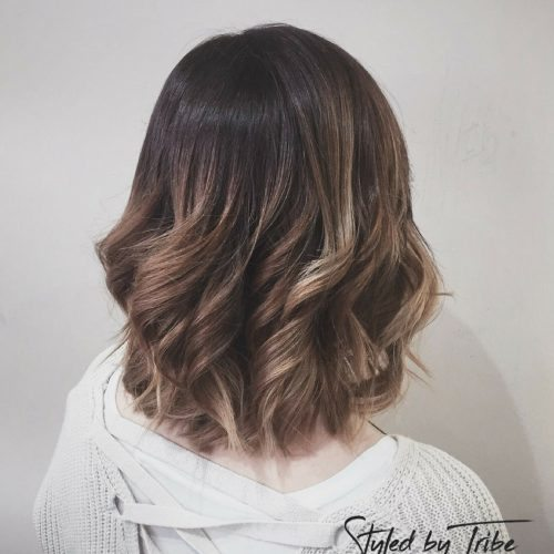 Balayage for Jessica | Aveda Colour Styled by Amy | December 16