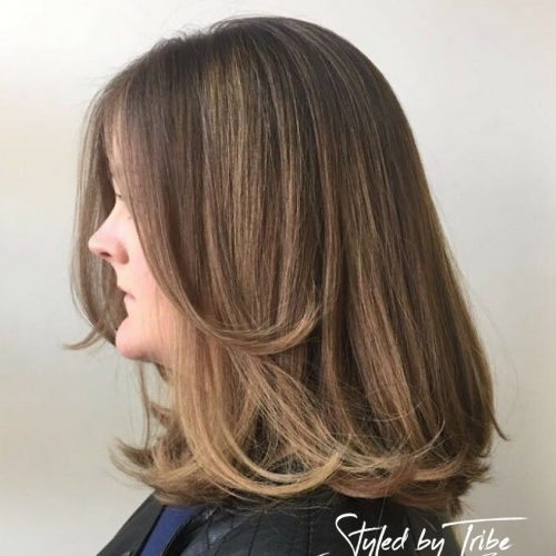 Balayage & Mid Length Cut - Styled By Danielle- May 17