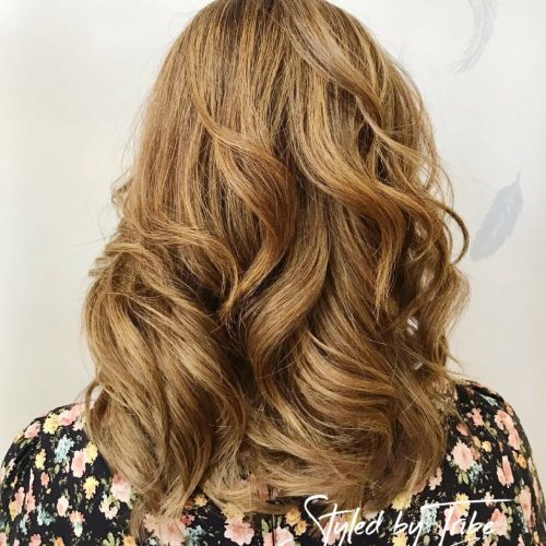 Aveda Colour & hair Cut With Wavey Finish | Styled by Jess