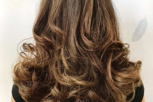 Beautiful Highlights and Long layered Hair Cut - Styled by Jess