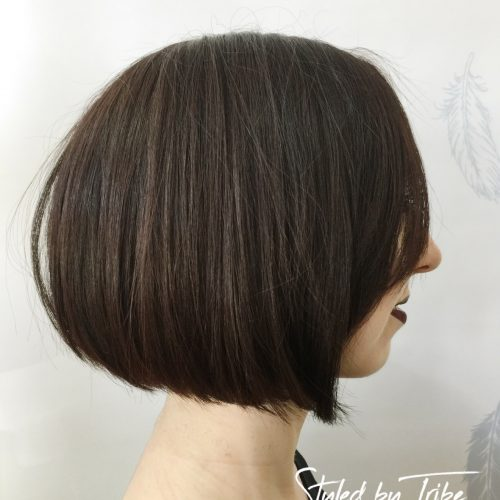 Restyled from Long to Bob Length | Styled By Billy | July 17