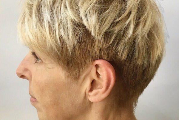 Cut & Aveda Colour on Short Hair | Styled by Sydnee