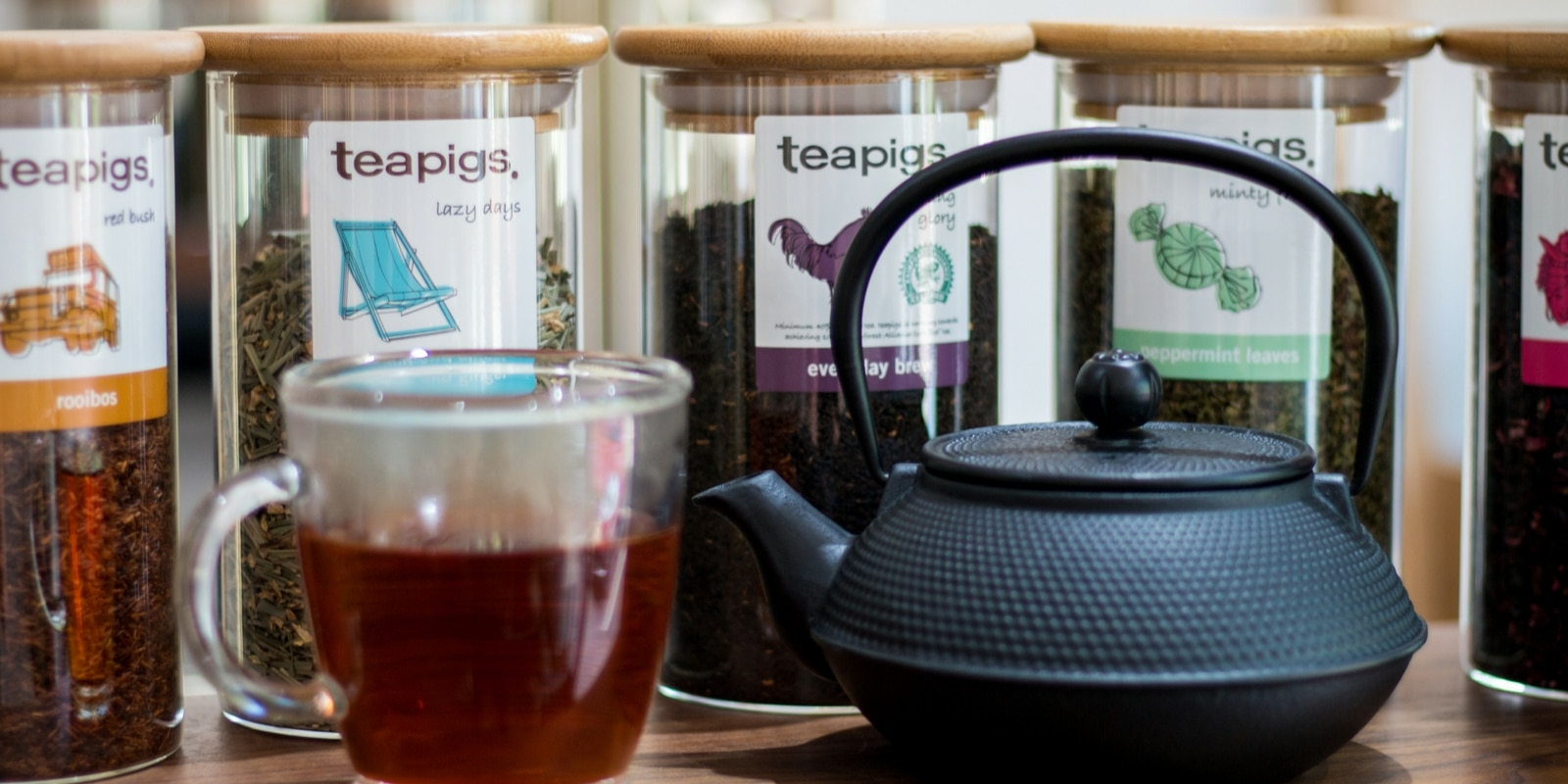 We now serve TeaPigs Herbal Tea Complimentary with your hair service