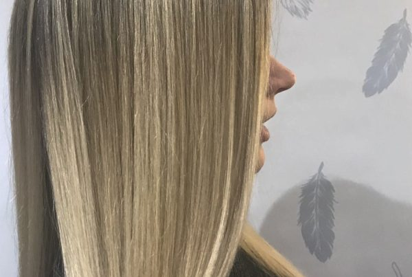 Balayage and Long Layered Cut & Finish for Laura | Styled by Amy