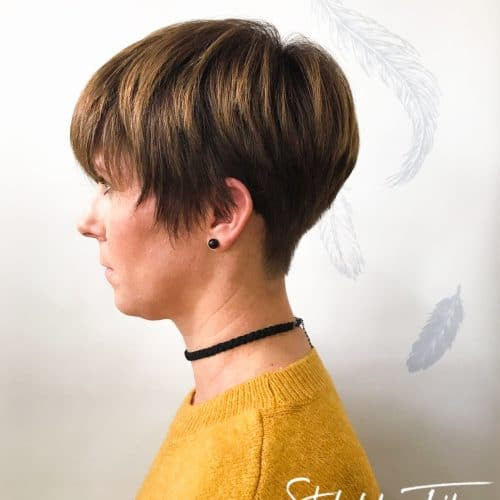 Short, Soft Hair Cut | Styled By Amy-3