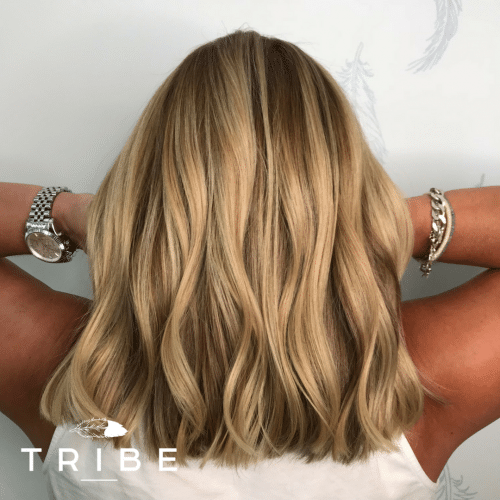 Soft Blonde Balayage Aveda Colour | Styled by Leanne at Tribe Salon Chislehurst