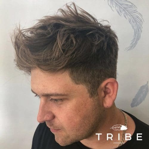 Textured Mens Hair | Styled by Billy