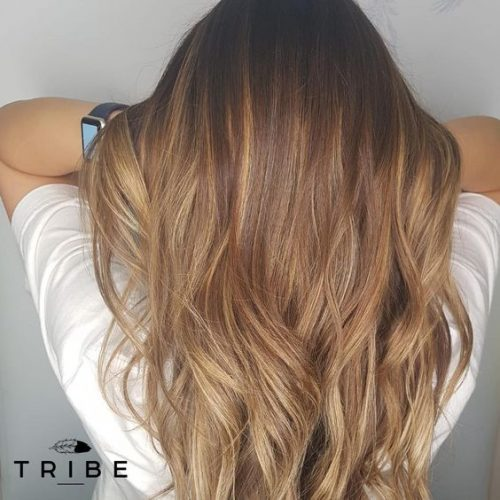 Balayage Styled by Christopher at Tribe Salon Chislehurst