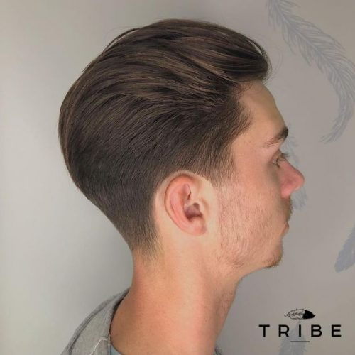 Fade into long Styled by Billy at Tribe Clapham