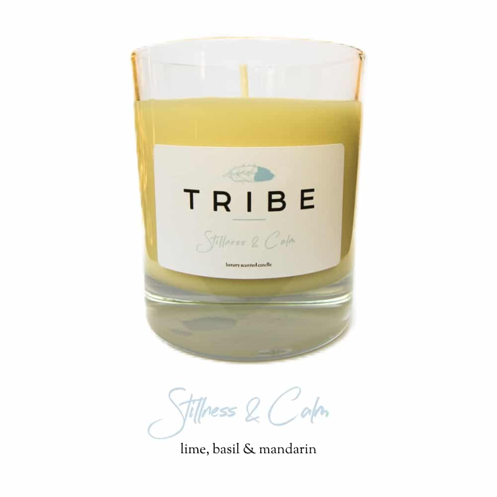 Tribe Candle - Stillness & Calm - Website